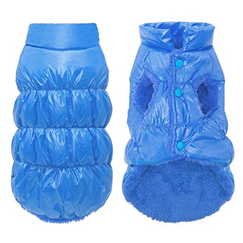 Beirui Cold Weather Dog Coats Small Dogs Cats - Warm Dogs Jackets Soft Fleece - Windproof Waterproof...