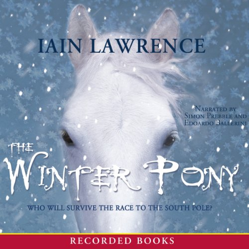 The Winter Pony audiobook cover art