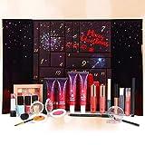 Calendario dell'Avvento Beauty 2021, Calendario Avvento Make-up, Set di Trucchi da 24 pezzi per Occhi, Viso, Labbra e Unghie, Calendario Conto alla Rovescia Natale Idea Regalo per Amanti, Amici