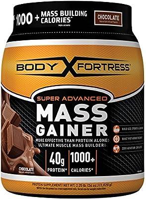Body Fortress Super Advanced Whey Protein Powder Mass Gainer, Gluten Free