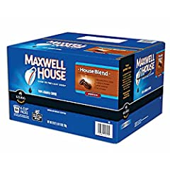 Maxwell House medium roast Maxwell House House Blend K-Cup Coffee Pods (100 ct.) 100% Arabica coffee For use in all Keurig brewers