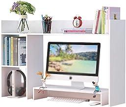 Magazine Racks Creative Table Small Bookshelf, Simple Table Shelf, Dormitory Office Compartment Storage Rack, 98×22×60cm, ...