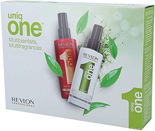 REVLON PROFESSIONAL UNIQ ONE ALL IN ONE Set Trattamento Classic 150 ml + Trattamento Green Tea 150 ml