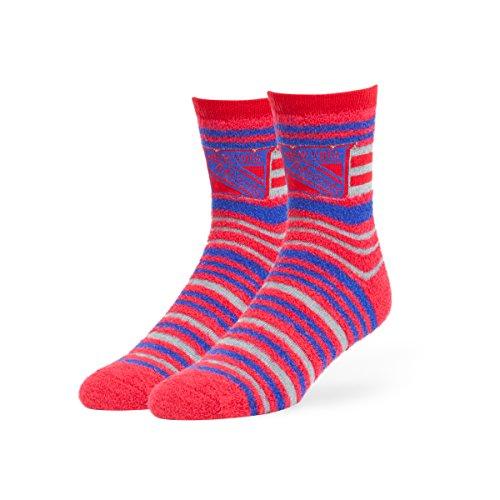'47 NHL New York Rangers Shiloh Chenille Half Crew Socks, Medium, Red