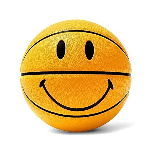 Best Deals! Outdoor sports fashion home Match Ball No.7 Basketball Wear-Resistant Match Ball, Huang,...