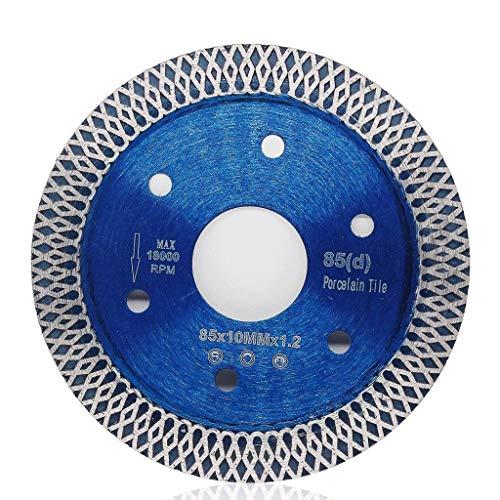 Disco De Corte Diamante 85/105/115/125 mm de sierra de diamante lámina for el revestimiento de porcelana, cerámica en seco de corte agresivo mármol disco piedra de granito hoja de sierra Cortar