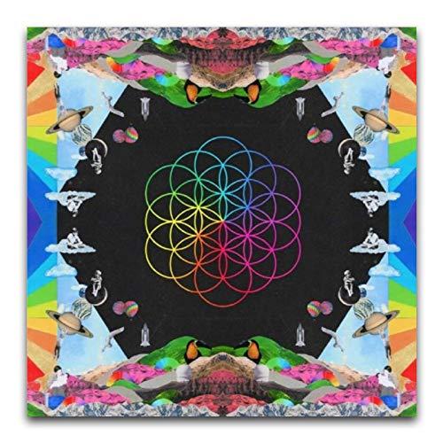 Coldplay – A Head Full of Dreams Album-Kunst-Poster und Wandkunstdruck, modernes Familienschlafzimmerdekor, Poster, 30 x 30 cm