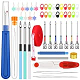 49 Pieces Punch Needle Embroidery Kits...