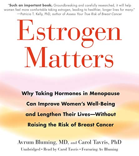 Estrogen Matters audiobook cover art