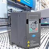 DAUERHAFT Frequenzumrichter 380 V 2,2 kW Frequenzumrichter Antriebspumpen, Lebensmittelmaschinen für Elektromotoren