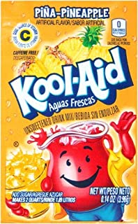 Kool-Aid Drink Mix, Pina-Pineapple (Pack of 8)