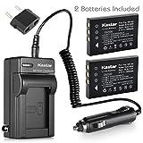 Kastar Battery (X2) & AC Travel Charger for Hewlett Packard A1812A, L1812A and HP PhotoSmart R07, R507, R607, R707, R717, R725, R727, R817, R818, R827, R837, R847, R926, R927, R937, R967