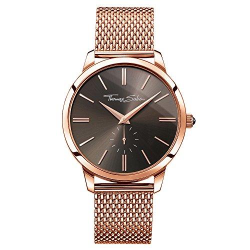 Thomas Sabo Watches, Reloj para señor Rebel Spirit, Acero, WA0177-265-206