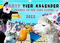 Party Tier Kalender (Wandkalender 2022 DIN A4 quer): Entdecke das Party Tier in Dir (Monatskalender, 14 Seiten )