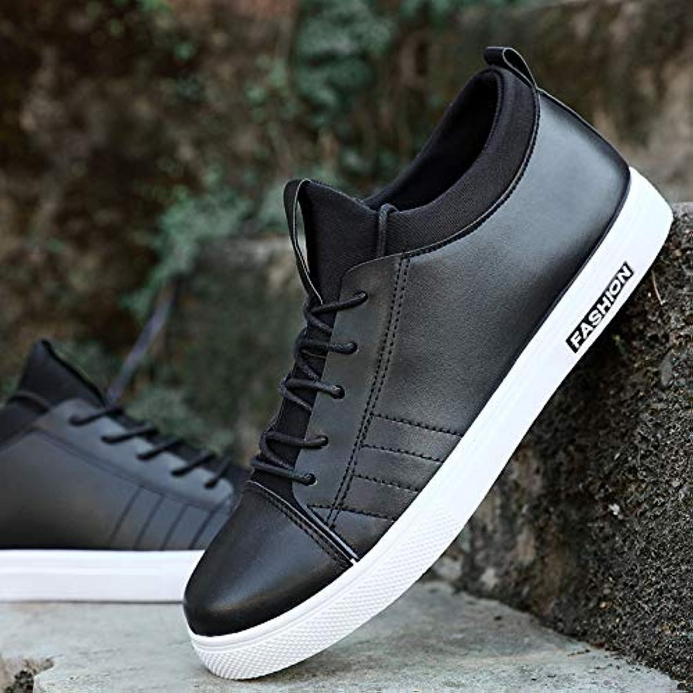 LOVDRAM Men'S Leather shoes Autumn New Men'S shoes Casual shoes Korean Fashion shoes shoes Sports shoes
