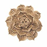 Anding Ceramic Handmade Artistic Incense Holder Burner Stick Coil Lotus Ash Catcher Buddhist Water Lily Plate