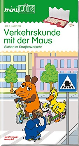 miniLÜK-Übungshefte: miniLÜK: Kindergarten/Vorschule: Verkehrskunde mit der Maus