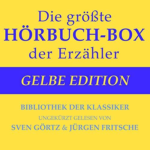 Die größte Hörbuch-Box der Erzähler - Gelbe Edition cover art