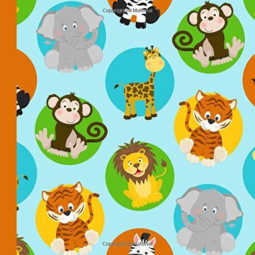 Zoo Animal Birthday Party Guest Book: Beautiful Zoo Animal Birthday Party Guest Book For a Memory Keepsake to Treasure Forever: Volume 1