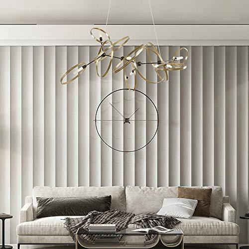 BICCQ Postmodern Creative Metal Ring Decoration Sala De Estar Dormitorio Comedor Modelo Sala De Araña