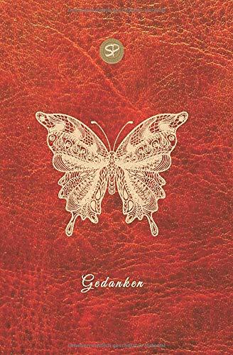 Gedanken: Notizbuch, gepunktet (dotted) für Tagebuch & Bullet Journal, 200 Seiten mit Inhaltsverzeichnis, Softcover