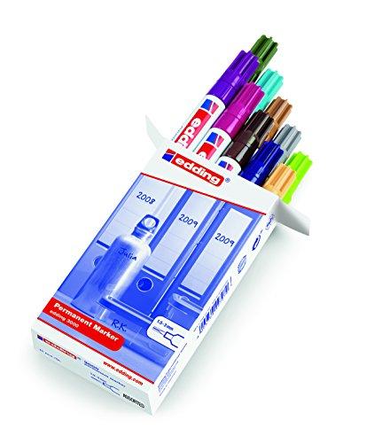 edding 3000 Permanent-Marker sortiert, 10er Pack