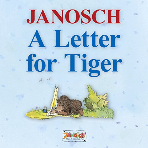 A Letter for Tiger audiobook cover art