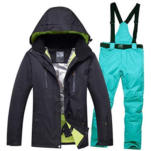 XFCMCP Winter Ski suit Mannen Vrouwen Ski Jas En Broek Sneeuw Warm Waterdicht Winddicht Vrouwelijke Ski Suits