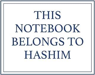 This Notebook Belongs to Hashim