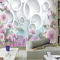 Ljjlm カスタム大規模壁画ファッション絶妙な3Dリビングルームテレビ背景壁に取り付けられた不織布壁紙-160X120Cm
