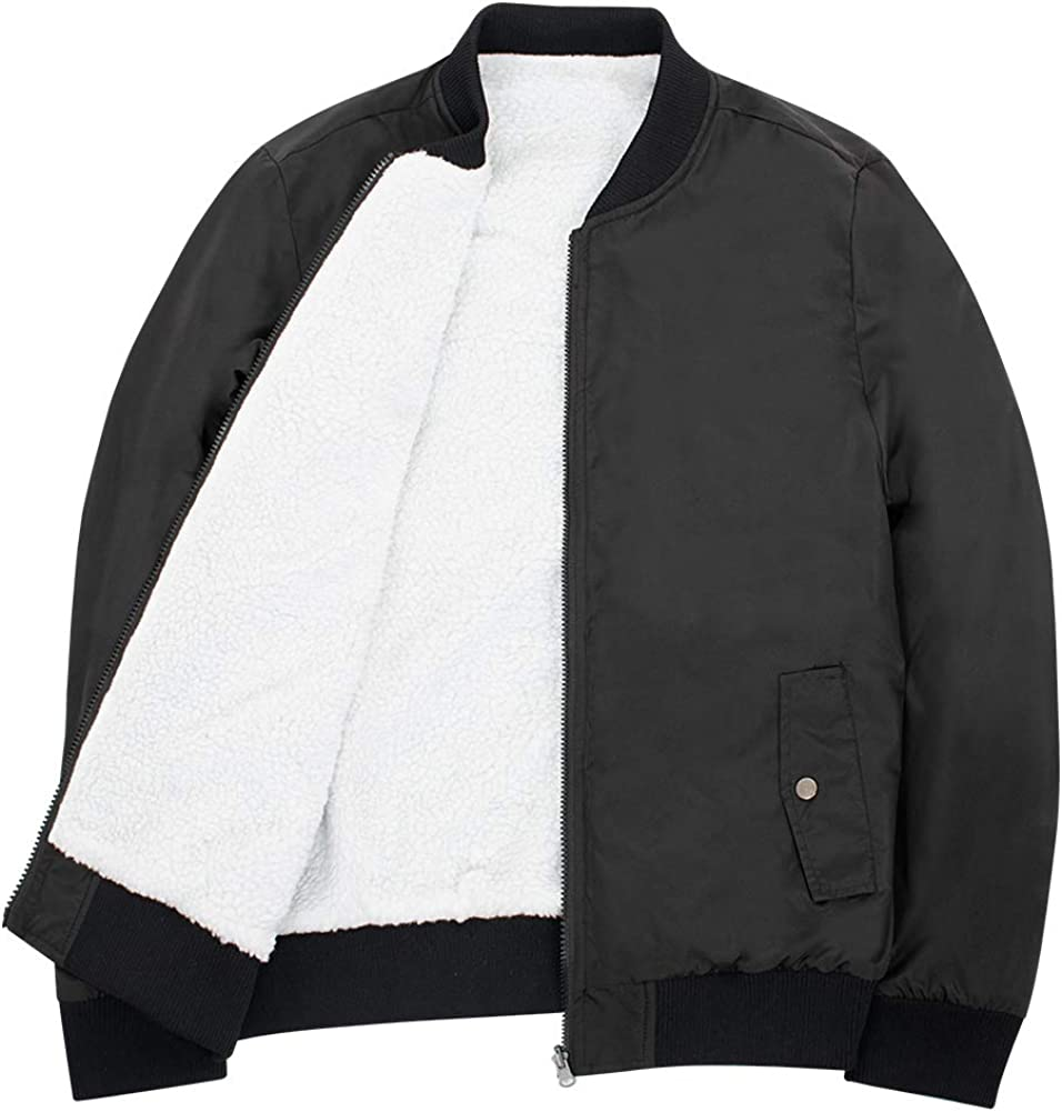SUNDAY ROSE Women's Reversible Bomber Casual Max 90% OFF Up Jacket Cheap mail order sales Zip Coat