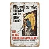 XREE The Texas Chainsaw Massacre Poster Blechschild Poster