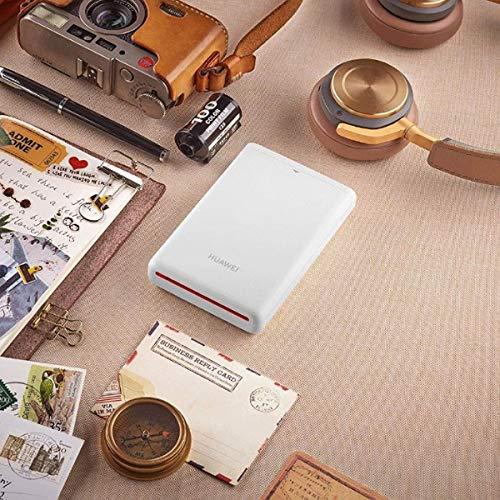 Foto-Drucker CV80 mit 5 Packungen Papier, Weiß