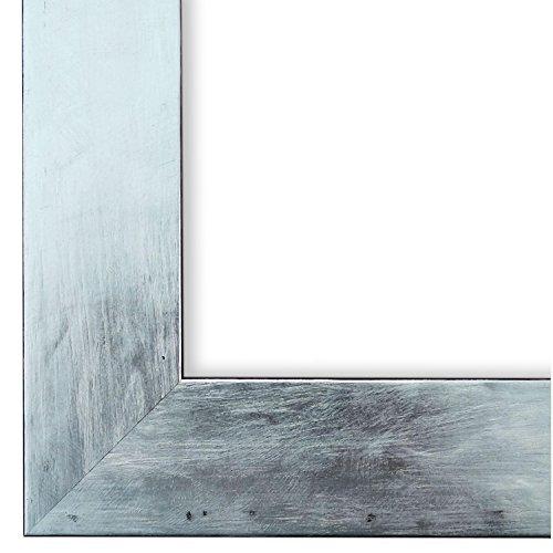 Online Galerie Bingold Bilderrahmen Silber DINA3(29,7x42,0) - DIN A3 (29,7 x 42,0 cm) - Modern, Retro, Vintage, Shabby - Alle Größen - handgefertigt - WRF - Lecce 4,0