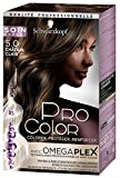 Schwarzkopf - Pro Color - Coloration Permanente Cheveux Anti-Casse - Châtain Clair 5.0
