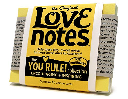 Original Love Notes - YOU RULE Collection - Sweet Little Handwritten-style Cards to Show Your Special People How You Feel
