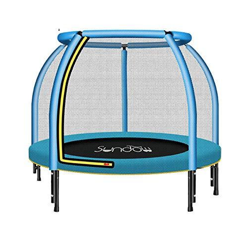 Bedrails HUO Veiligheid Hek Junior Edition Trampoline Met Veiligheid Netto Behuizing Trampolines Voor Kinderen Binnen Mini Trampoline