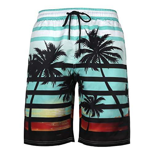 URVIP Herren Badeshorts Badehose in vielen Farben |Badeshort| Bermuda Shorts |Schwimmhose |Badehosen |Badehose für Männer in den Größen S bis 6XL L-15771 M