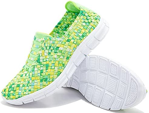 JWJ Womens Walking Shoes Slip-on Comfortable Sneakers Handmade S