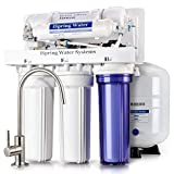 iSpring RCC7P Performance-boosted Under Sink 5-Stage Reverse Osmosis Drinking Water Filtration System with Pump and Ultimate Water Softener (Renewed)
