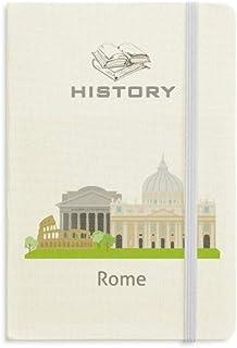 イタリアローマ景色国立のランドマーク 歴史ノートクラシックジャーナル日記A 5