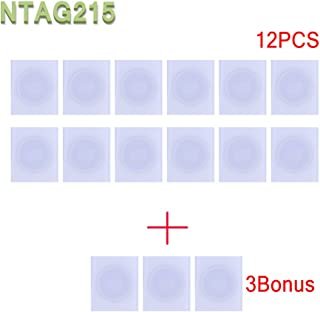 15x NTAG215 NFC Tags Stickers TagMo Amiibo compatibile-usato per le carte da gioco Amiibos e compatibile con tutti gli sma...