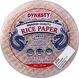 Dynasty Premium Quality White Rice Paper, 12 oz