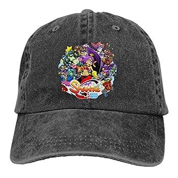 SHGDI Shantae Half-Genie Hero Denim Cap Classic Adjustable Baseball Cap
