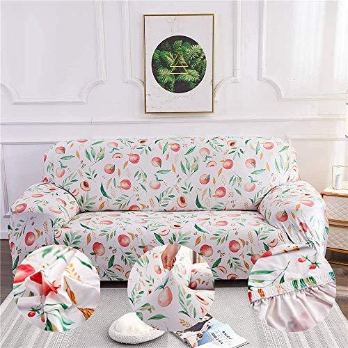 Funda de sofá Funda de sofá elástica en Forma de L Sofá seccional, Protector de Muebles Antideslizante para Funda de sofá para