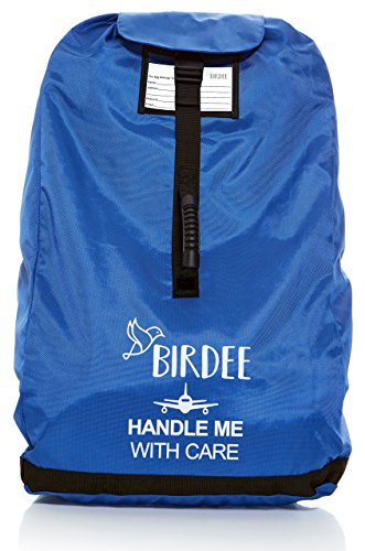 Birdee Car Seat Travel Bag for Airplane Gate Check and Carrier for Travel Montana
