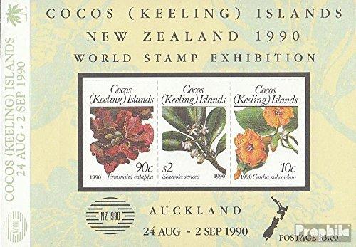 Kokos-Wyspy Blok 10 (pe?ne.Kwestia.) 1990 Nowy ZEALAND (Znaczki dla kolekcjonerów) rosliny / grzyby