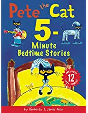 Pete the Cat: 5-Minute Bedtime Stories: Includes 12 Cozy Stories!
