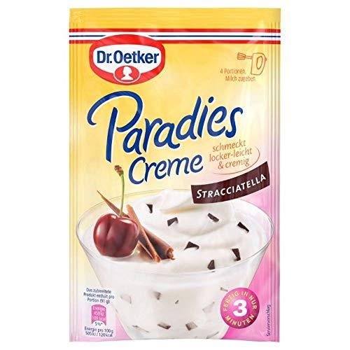 Dr. Oetker Paradies Creme Stracciatella, 66 g Beutel