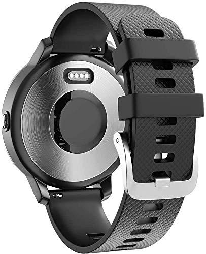 Gransho Compatible con Polar Vantage M Correa de Reloj, Banda de Reemplazo Silicona Suave Sports Pulsera (22mm, Pattern 10)